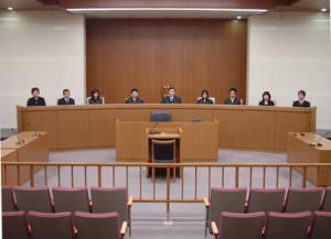 裁判員裁判の法廷