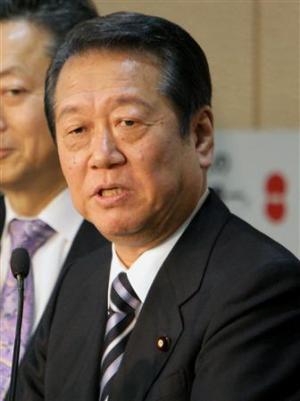 小沢一郎氏