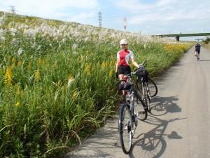 荒川沿いサイクリング道